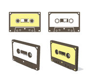 Audio cassetteband royalty-vrije illustratie