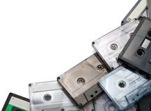 Audio cassettes Stock Photo