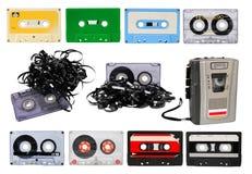 Audio cassettes Stock Photos