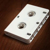 Audio cassettes for recorder Royalty Free Stock Photo