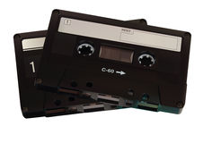 Audio cassettes Royalty Free Stock Photos