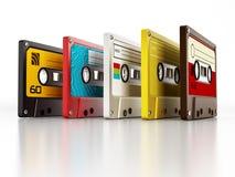 Audio cassettes Stock Photography