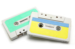 Audio cassettes Stock Image