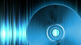 Audio CD stock video footage