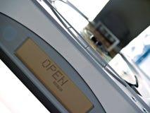 Audio-CD speler met open dekking Royalty-vrije Stock Fotografie