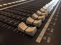 audio ciemna wyposażenia błyskawicy noc Obrazy Stock