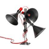 Audio communication Stock Photography