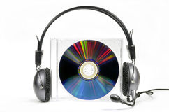 Audio compact disk Stock Images