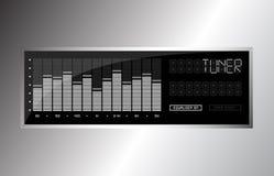 Audio compensatore Fotografia Stock Libera da Diritti