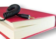 Audio concetto del libro Fotografie Stock