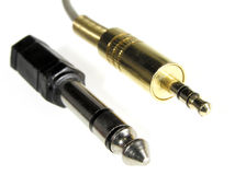 Audio connector Royalty Free Stock Photos