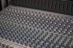 Audio Console Stock Photos