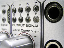 Audio Controlemechanisme GateInS Moskou Stock Foto