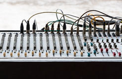 The audio controler Royalty Free Stock Photos