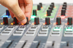 Audio controller Stock Image