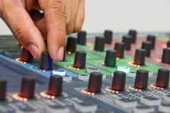 Audio controller Stock Photography