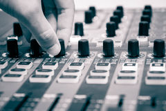 Audio controller Royalty Free Stock Image