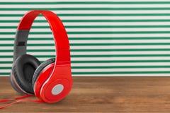 Audio cuffie Immagini Stock Libere da Diritti