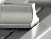Audio curseurclose-up Royalty-vrije Stock Fotografie