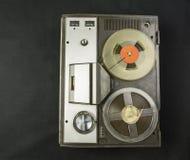 Audio de carrete que graba Fotos de archivo