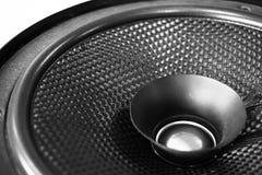 Audio de haut-parleur de voiture Photos stock