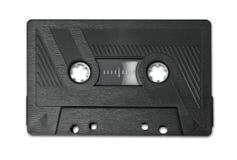 Audio de muziekmiddel van de cassette oud band Stock Foto