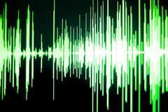 Audio de studio d'enregistrement sonore Photographie stock