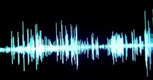 Audio del estudio de grabación de los sonidos ilustración del vector
