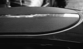 Audio del subwoofer del coche fotos de archivo libres de regalías