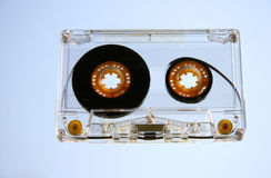 Audio Demo Music Tape. Tape And A Blue Sky stock photography