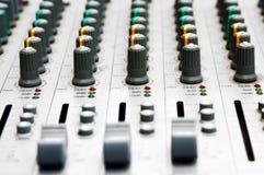 audio deski target619_0_ Fotografia Stock