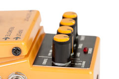 Audio distortion device. Isolated on whtie Royalty Free Stock Photos