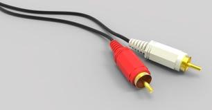 Audio e video prese Fotografia Stock