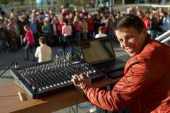 Audio engineer Stock Photos