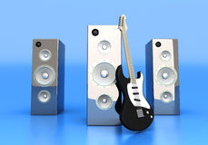 Audio Entertainment Stock Photo