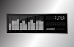 Audio equalizer Royalty Free Stock Photography