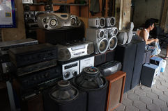 Audio equipment Royalty Free Stock Photography