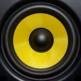 Audio fine dell'altoparlante su immagini stock libere da diritti