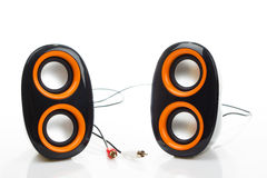 Audio geïsoleerde sprekers Stock Afbeeldingen