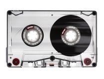Audio geïsoleerdes cassette Stock Foto's