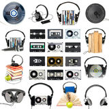 Audio gear set Stock Images