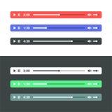 Audio giocatore Immagini Stock Libere da Diritti