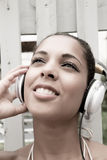 Audio gioia Immagine Stock Libera da Diritti