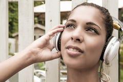 Audio gioia Fotografia Stock