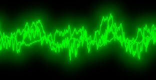 Audio Golven   royalty-vrije illustratie