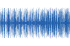 Audio golven Royalty-vrije Stock Afbeeldingen