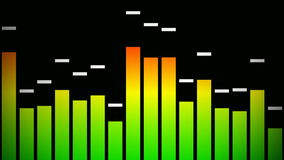 Audio graphic stock video