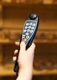 Audio guide device. Stock Photos