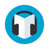 Audio guide icon royalty free illustration