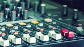 Audio guzik Obrazy Stock